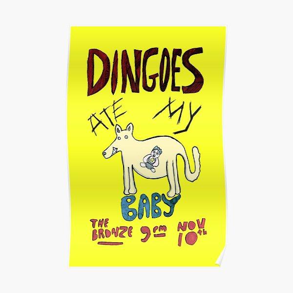 le musicien loup-garou. Son groupe Poster
