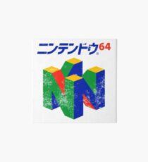 Japanese Nintendo 64 Art Board