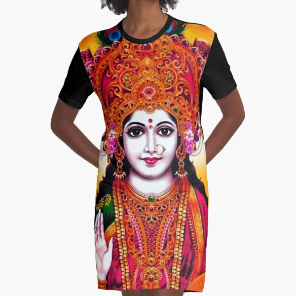 LAKSHMI Graphic T-Shirt Dress