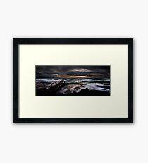 Olivers Hill, Frankston. Framed Print