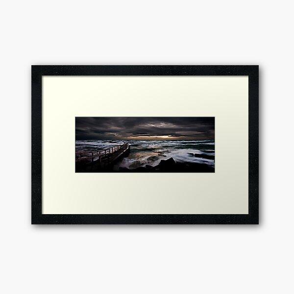 Olivers Hill, Frankston. Framed Art Print