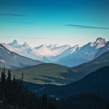 Valley, Banff National Park - Canadian Rockies - Alberta by Photograph2u