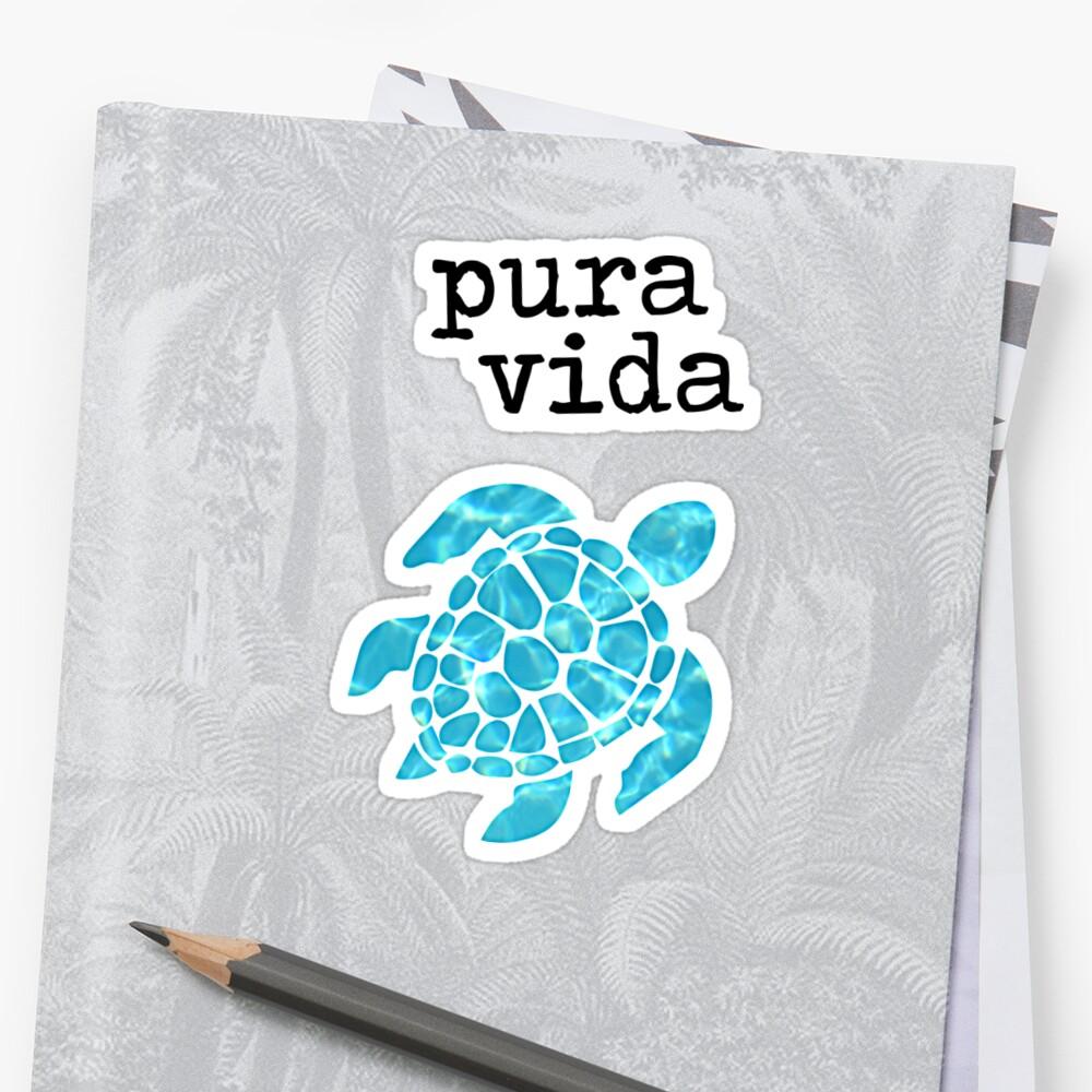 Pura Vida Turtle by turtlebeach