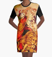 DURGA Graphic T-Shirt Dress