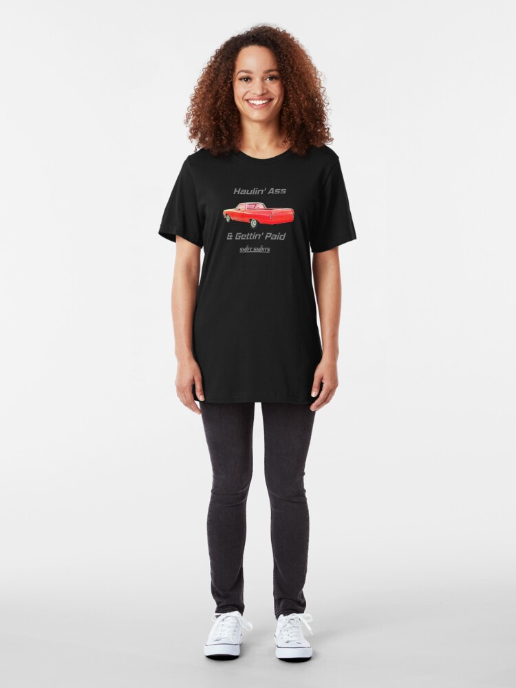 Alternate view of Shift Shirts Trabajo Rapido - El Camino Inspired Slim Fit T-Shirt