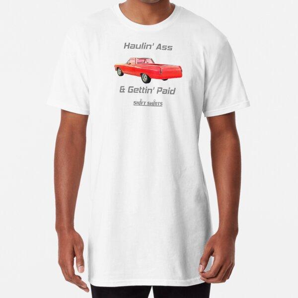 Shift Shirts Trabajo Rapido - El Camino Inspired Long T-Shirt