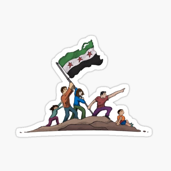 Children of Syria Sticker