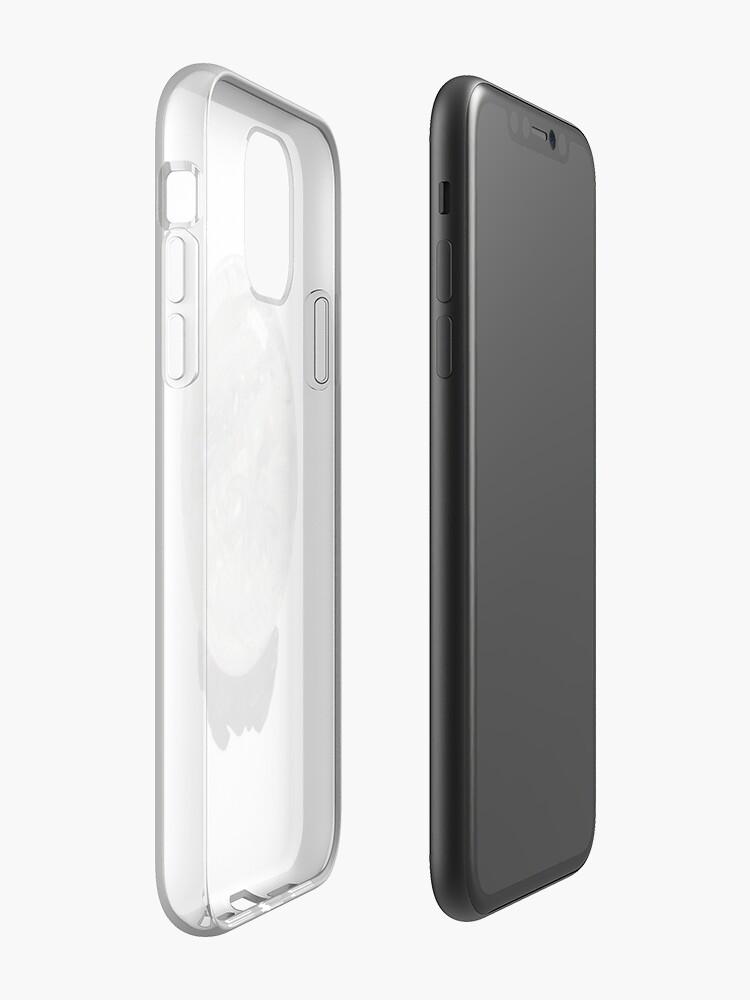 Coque iPhone «boule de cristal», par cwalter