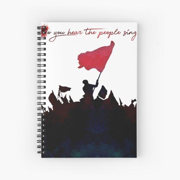 Les Miserables - ¿Oyes que la gente canta? Cuaderno de espiral
