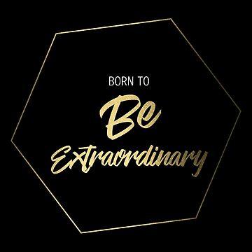 Inspiring Gifts for Entrepreneurs #1- Gold on Black by SKKSdesign