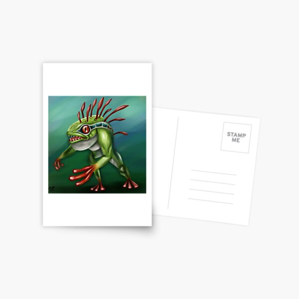 Murloc Postcard