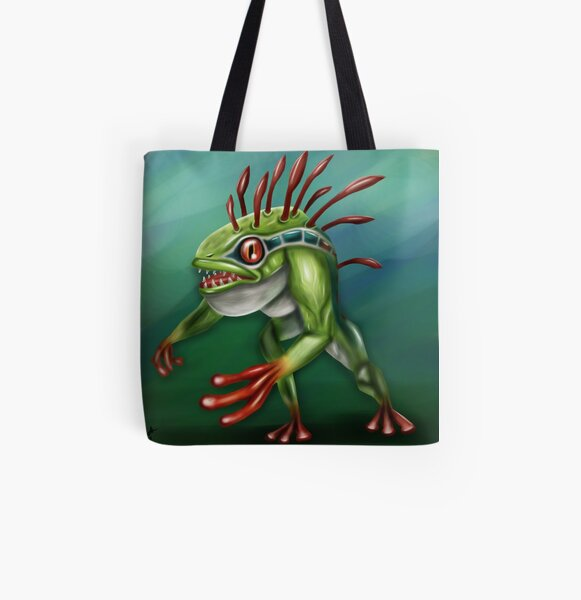 Murloc All Over Print Tote Bag