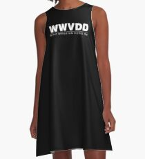 What Would Vin Diesel Do? A-Line Dress