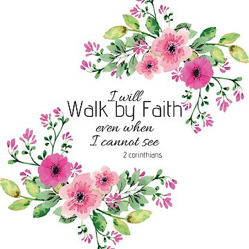 Christian Stickers Bible Verse by leanicolee