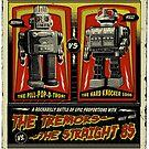 Rockabilly Robot Battle Poster by Jason Lonon