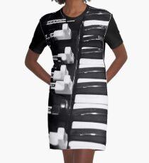 Hammond B3 Organ Graphic T-Shirt Dress