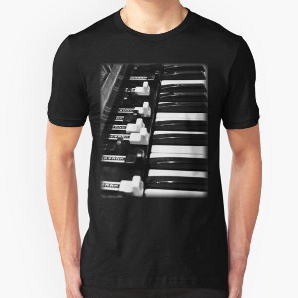 Hammond B3 Organ Slim Fit T-Shirt
