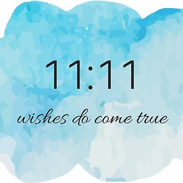 Wishes 11:11 Sticker by leanicolee