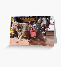 Up 'n Comer Greeting Card