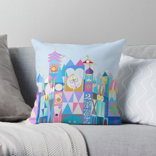 Tokyo Small World After All Throw Pillow