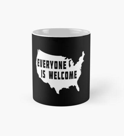 USA Everyone Is Welcome Mug
