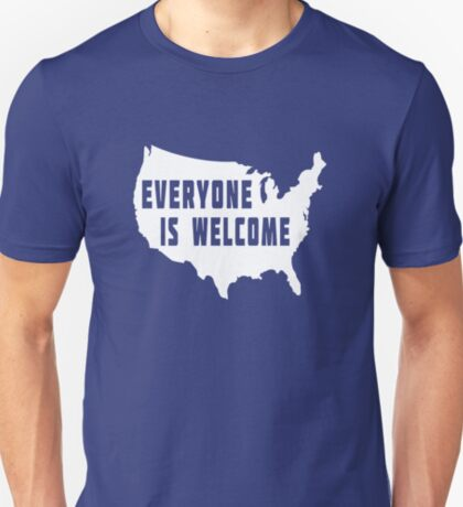 USA Everyone Is Welcome T-Shirt