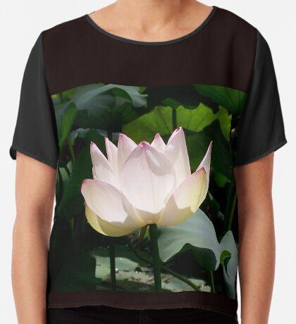 Lotus Flower Women's Chiffon Top