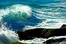Aliso Beach California by photosbyflood