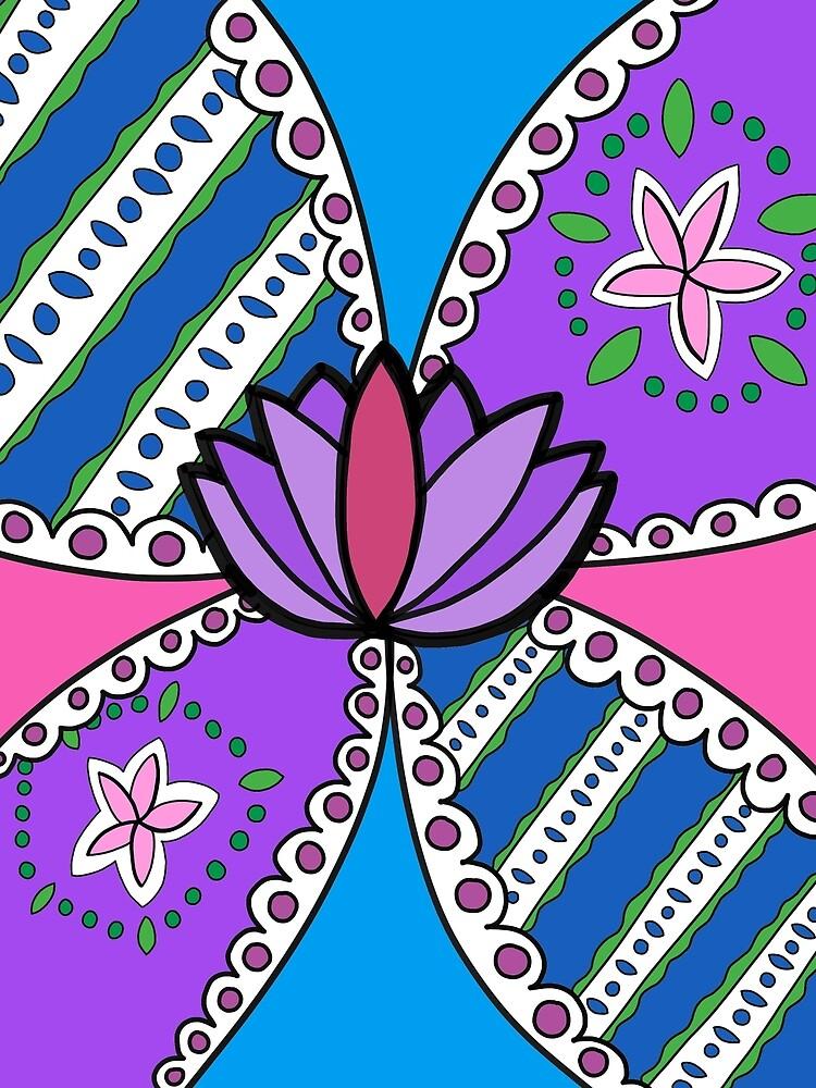 Lotus in Color by Sofia De Jong