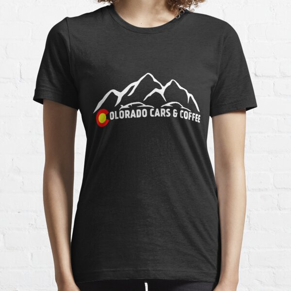 Colorado Cars & Coffee Mountain Logo Essential T-Shirt
