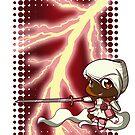 Chibi Electric Rose by Kiara Williams