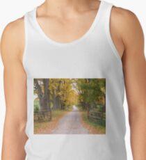 Autumn laneway Tank Top