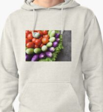 fresh raw vegetables  Pullover Hoodie