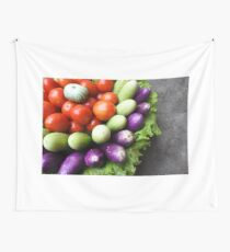 fresh raw vegetables  Wall Tapestry