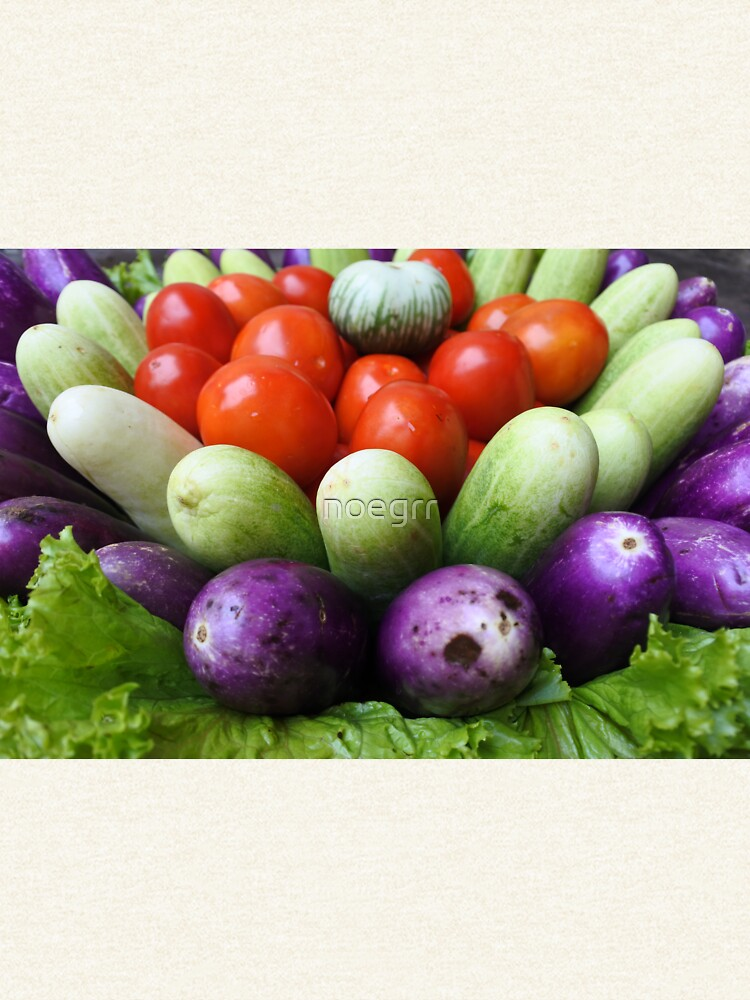 fresh raw vegetables  by noegrr