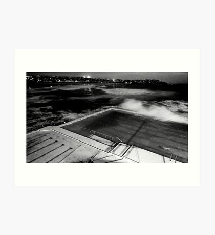 Bondi Pool Art Print