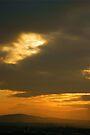 Sunset over Edinburgh by Andy Beattie