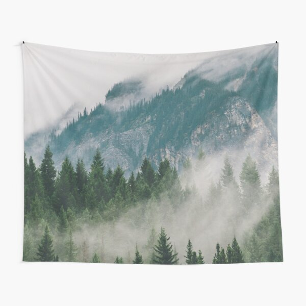 Vancouver Fog Tapestry