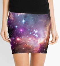 Colorful Galaxy Pattern Mini Skirt