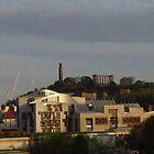 Scottish Parliament & Calton Hill, Edinburgh by wiggyofipswich