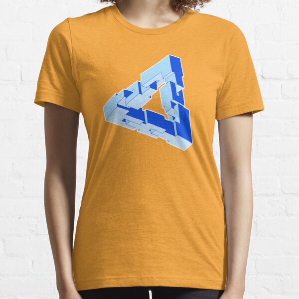 Chain Triangle Essential T-Shirt