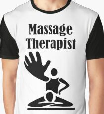 Massage Therapist I God gave me a gift Graphic T-Shirt
