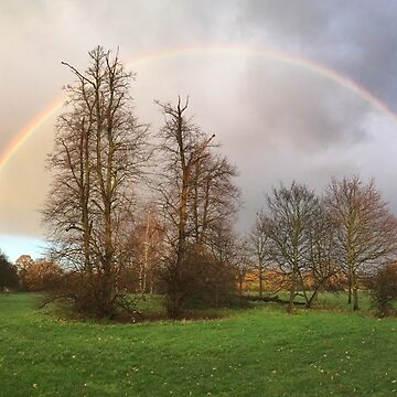 Rainbow over Tooting Common by zuluspice