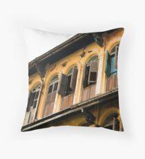 Yangon Terraces Throw Pillow