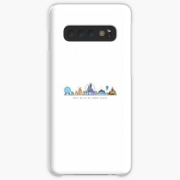 Meet me at my Happy Place Vector Orlando Theme Park Illustration Design Samsung Galaxy Snap Case