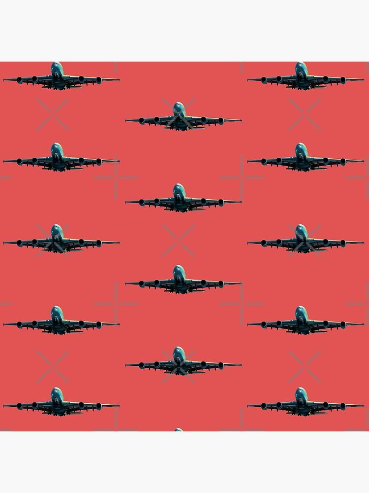 Größte Passagierflugzeug A-380 von sibosssr