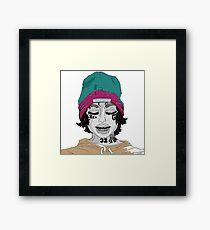 Wake Up Lil Xan Framed Print