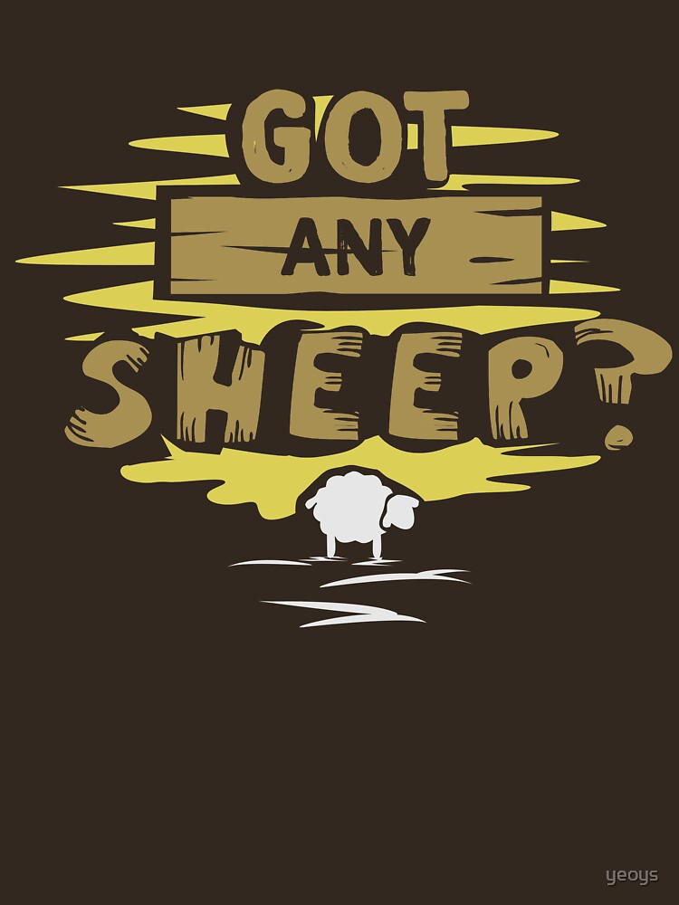 Got any sheep? - Board Game Gift by yeoys