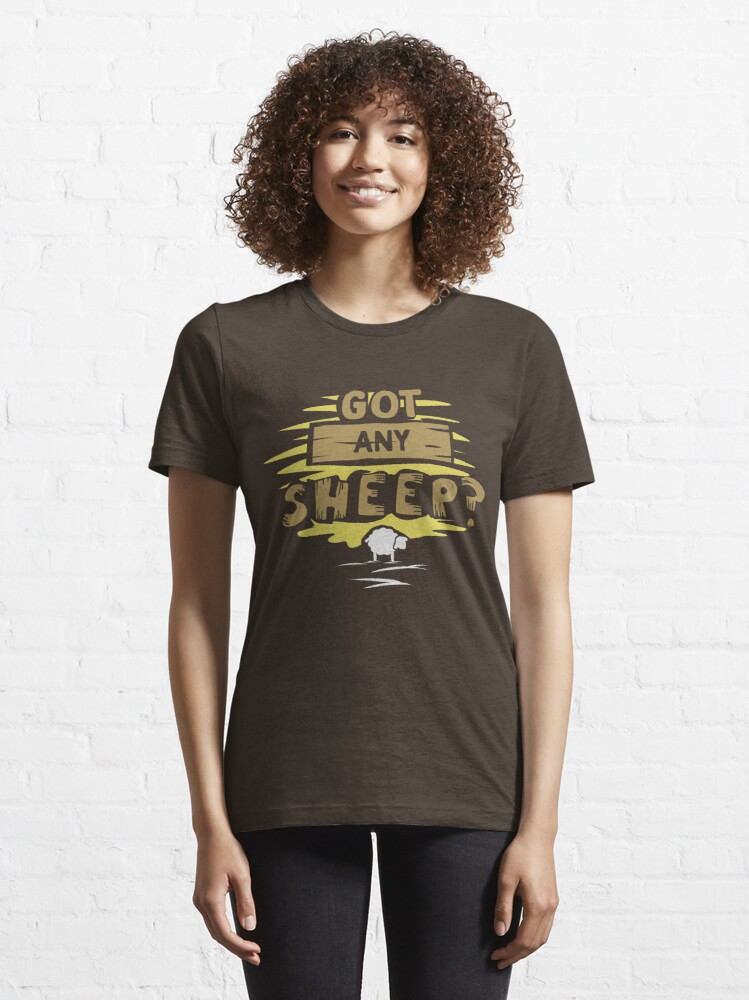 Alternate view of Got any sheep? - Board Game Gift Essential T-Shirt
