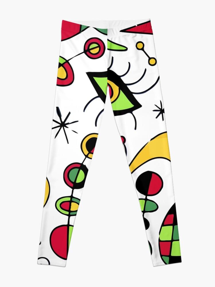 Alternate view of Joan Miro Peces De Colores (Colorful Fish ) Artwork for Posters Tshirts Prints Men Women Kids Leggings
